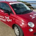 Distress Rate Media red car