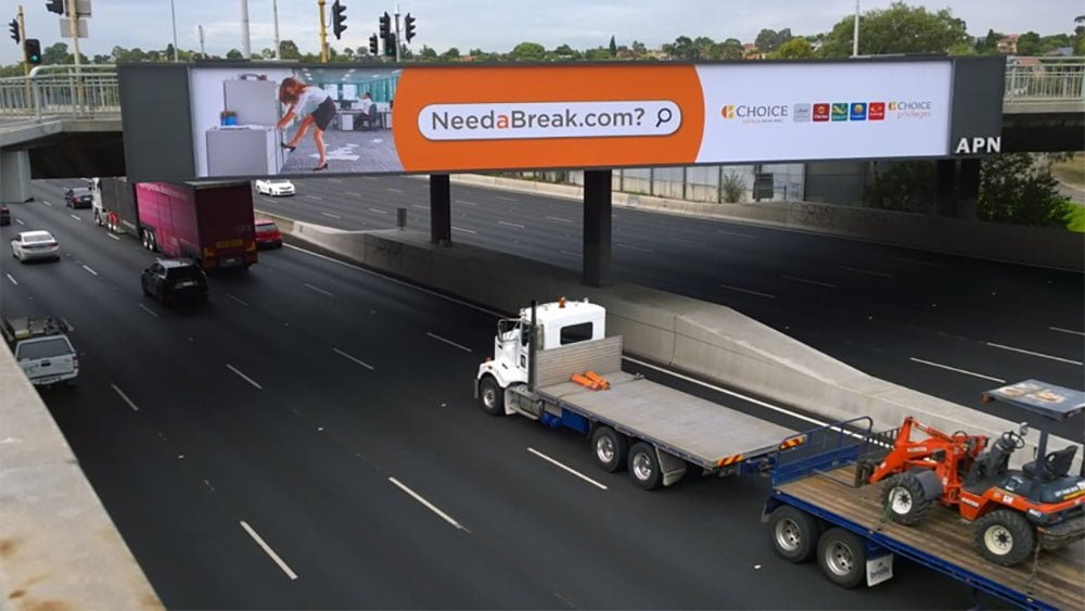 billboards advertising Melbourne