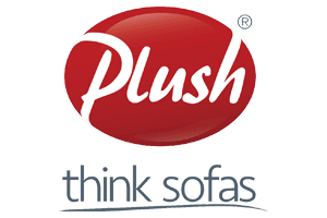 Plush think sofas